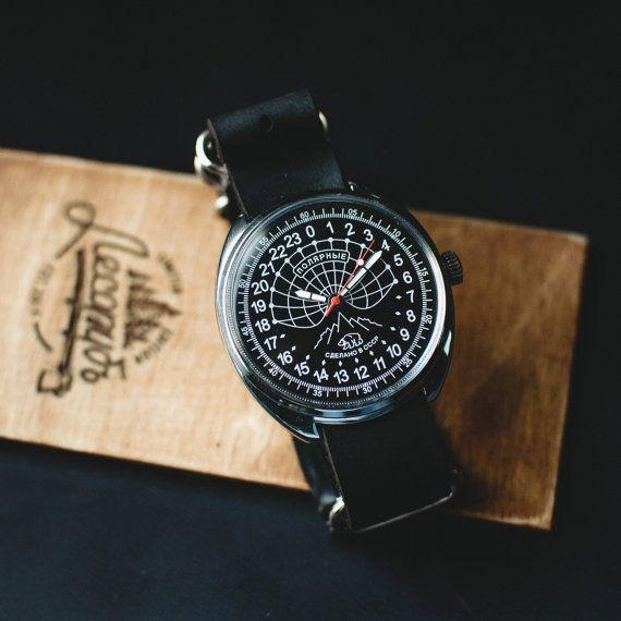 Vintage watch Raketa Antarctic Polar 24 Hours mens by Trulesorub