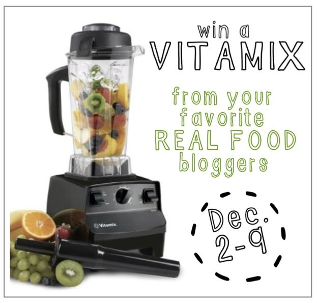 A great way to make baby food - a Vitamix! You can try to win one Dec. 2 through the 9th! Good luck!
