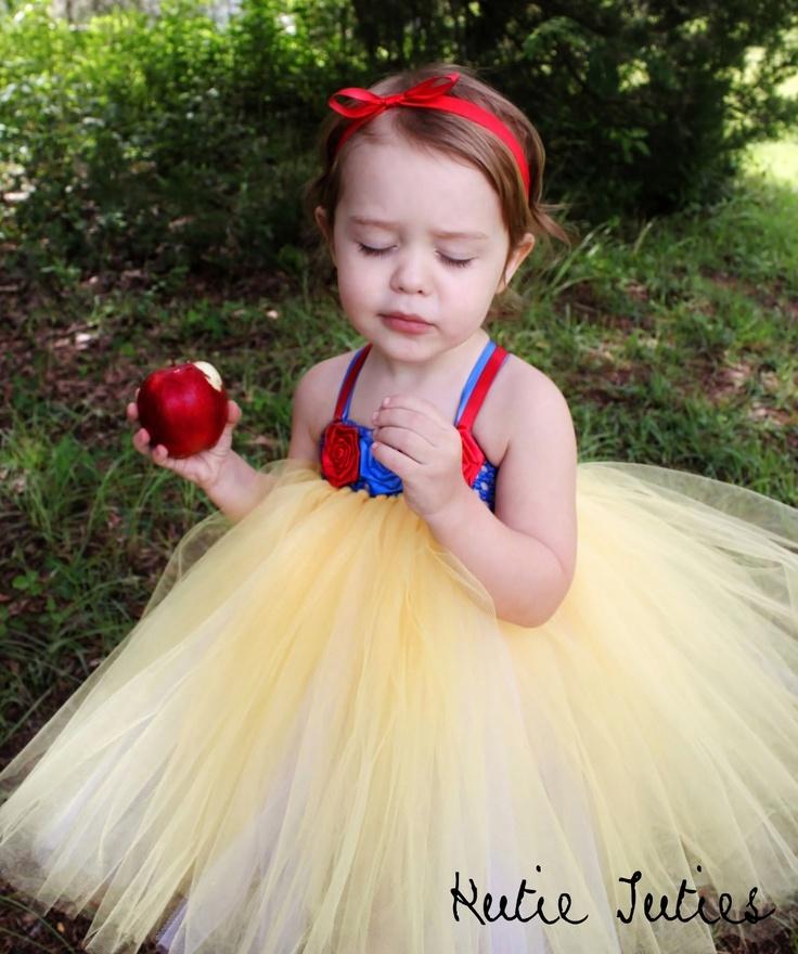 the snow white tutu dress headband birthday halloween costume pageant - Pageant Girl Halloween Costume