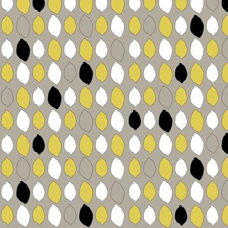 lemon fabric by pixelsnpieces on Spoonflower - custom fabric