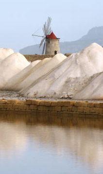 Sicilia | Trapani -- Mining Salt                              …