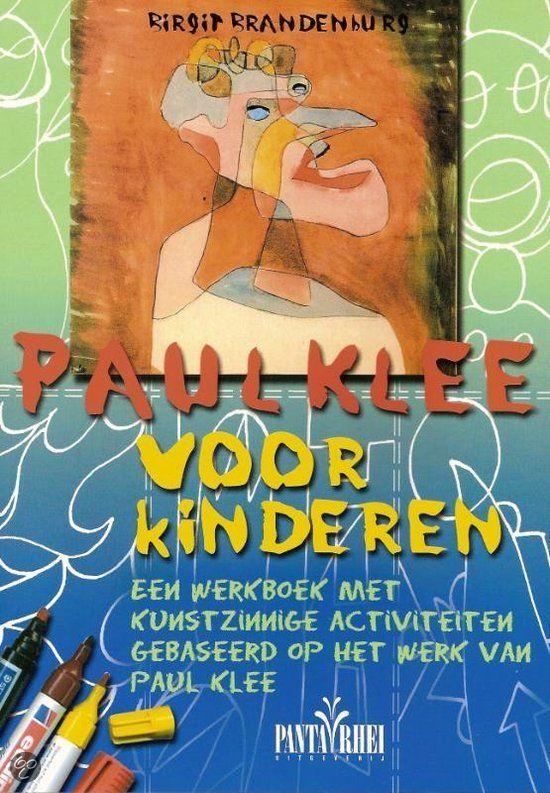 Paul Klee voor kinderen  De expressionistische kunstenaar Paul Klee was heel geïnteresseerd in de kunst van kinderen en probeerde iets  van hun natuurlijke creativiteit in zijn eigen tekeningen en aquarellen toe te passen. Zijn kunst is een combinatie  van volkskunst, abstracte kunst en humor, zoals bijvoorbeeld zijn beroemde tekening van vogels op een draad  getiteld 'De tjilpmachine'. Zijn techniek van een tekening uit één lijn wordt ook graag door kinderen toegepast.