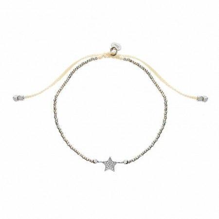 Beaded Expandable Star Bracelet
