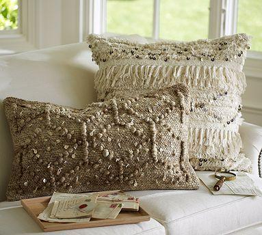 Moroccan Wedding Blanket Pillow Covers #potterybarn