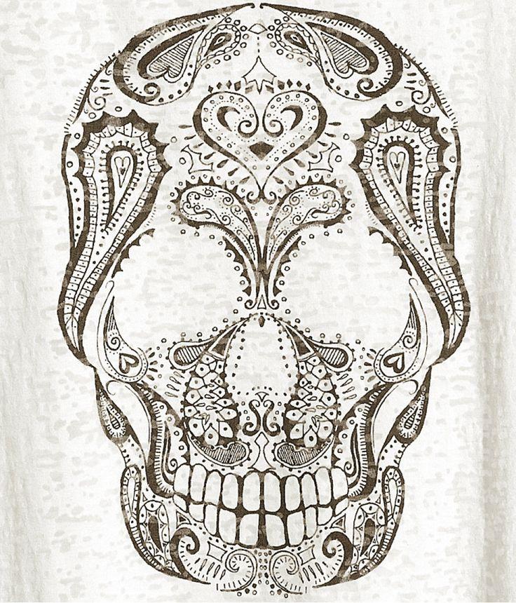Skull Henna Tattoo: Tattoos&Peircings