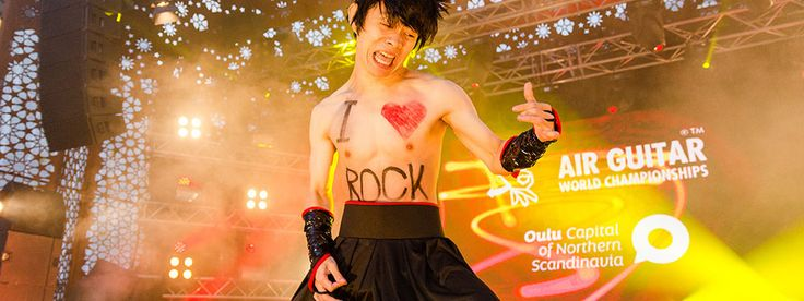 No guitar, never mind, take matters into your own hands — literally — at the Air Guitar World Championships. For four days each August rockers and metal-heads head to Oulu in Finland — the home...