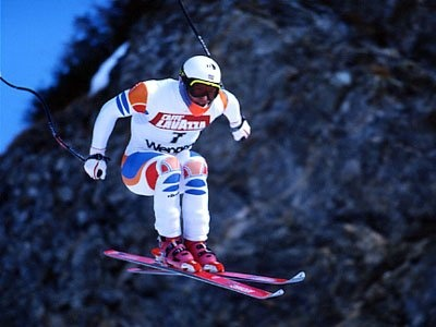 Marc Girardelli was ousted from the Austrian team. He switched to Luxemburg (!) and won 46 races in world cup (3 downhill, 9 super G, 7 giant slalom, 16 slalom, 11 combined) and 5 global WCs.
