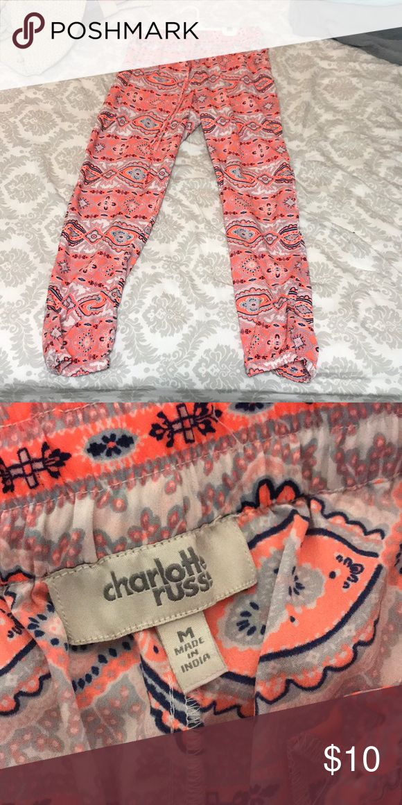 Aztec print pants Worn a couple times, great condition Charlotte Russe Pants Track Pants & Joggers