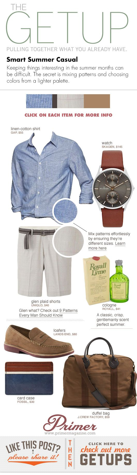 The Getup: Smart Summer Casual - Primer