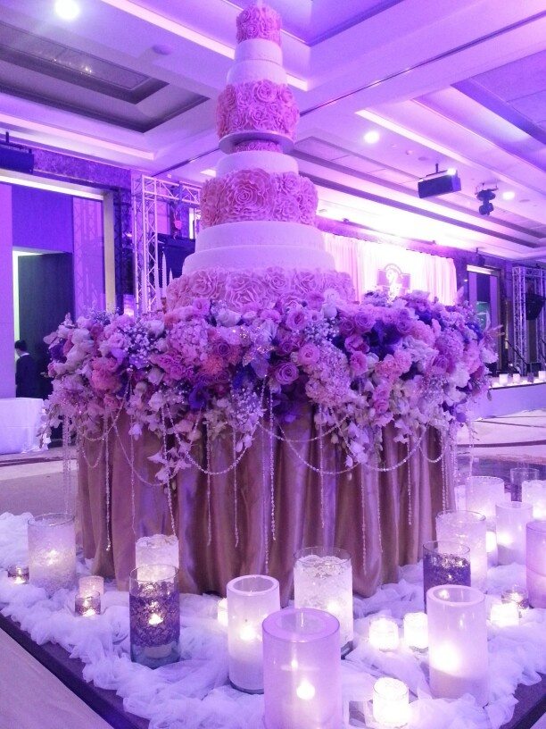 Cake and Cake Table at Sofitel Bangkok Sukhumvit