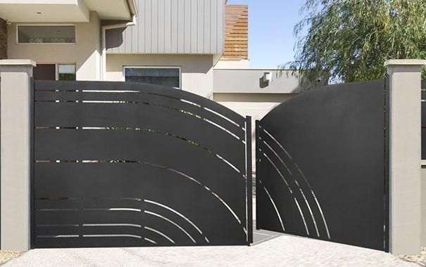 17 meilleures id es propos de portail maison sur pinterest portail jardin portails et. Black Bedroom Furniture Sets. Home Design Ideas