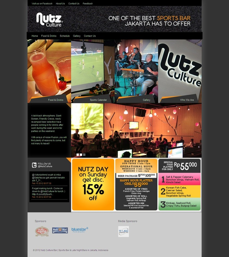 Nutz Culture: Web Development