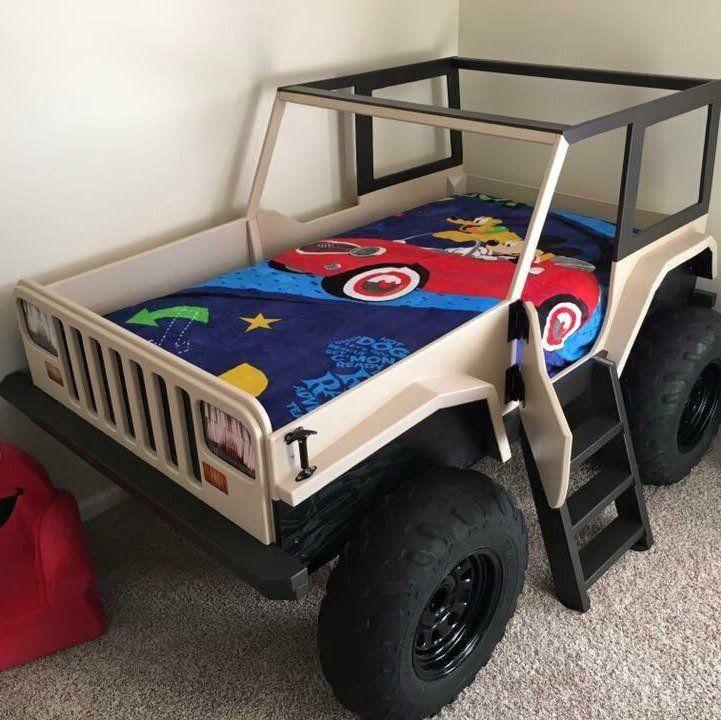 Jeep Bed Plans Twin Size Car Bed Muebles Para Ninos Camas De