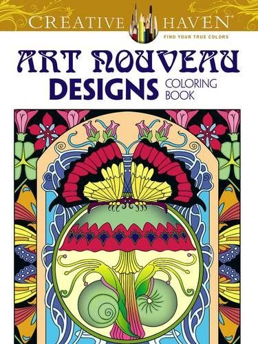 Creative Haven Art Nouveau Designs Collection Coloring Book Books By Dover