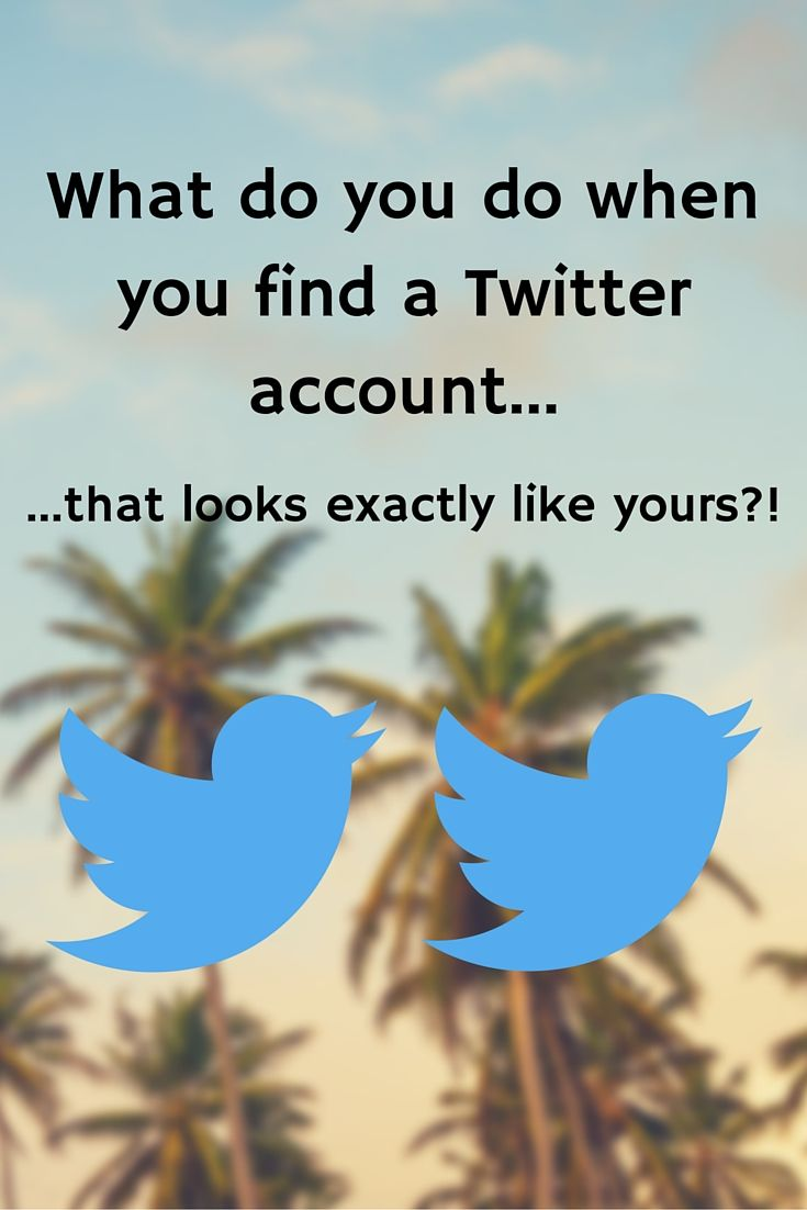 Has this ever happened to you? It happened to us... and man was it weird! We found a Twitter account with the exact same cover photo, logo, and description. Basically a carbon copy of our Twitter. This is how we handled it...