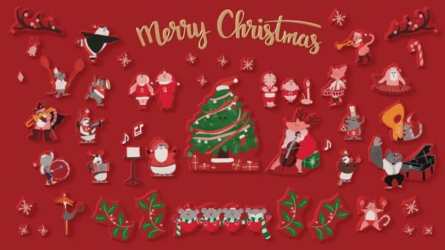 cableTV VOD idents _ ID Christmas_B  Director : Eugene Lee illust : Eugene Lee 3d Generalists :Eugene Lee, Shinyoung Kim, Duviduba Producer : Duviduba Sound : ROIAUDIO Production : cobb cobb.tv