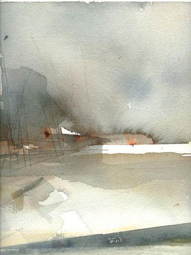 Lena Amstrand Akvareller, Islay 3