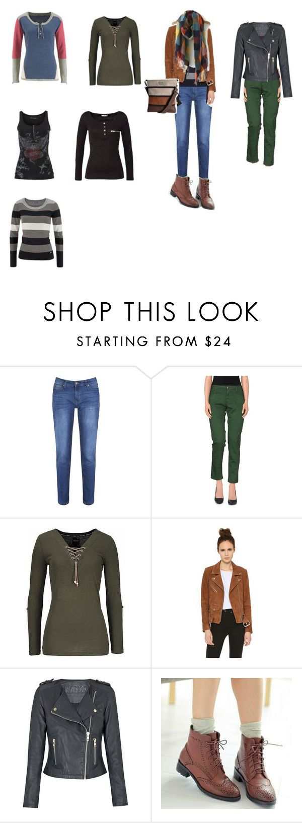 """""""tlumené barvy"""" by jara-mira on Polyvore featuring Brakeburn, Basicon, Veda and Pangmama"""