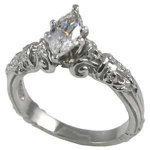 Vintage Look I Love My Marquise Diamond This Would Be Pick As Well