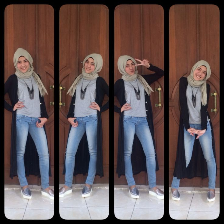 Saturday! Hijabers casual outfit yeay!!