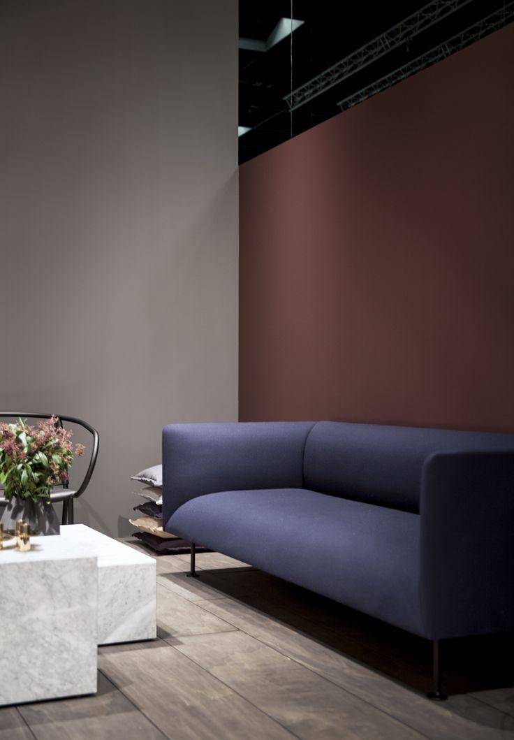 "Menu | IMM Cologne 2016 ""Modernism Reimagined""  product: Godot Sofa Designer: Iskos Berlin Photo Credit: Jonas Bjerre-Poulsen"