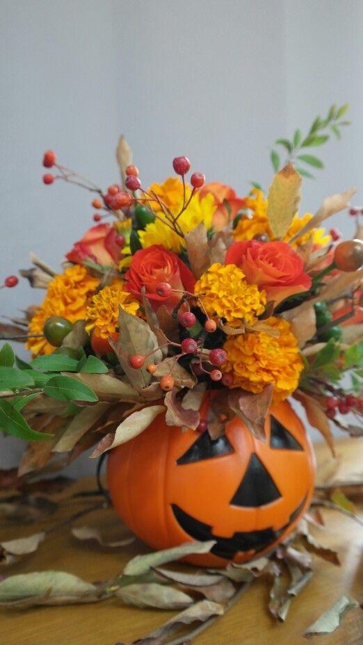 halloween centerpiece by larose