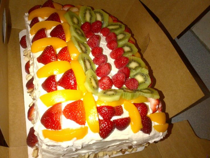 Cake With Fruit Pinterest : Fruits of Summer Cake Cakes Pinterest Fruit, Summer ...