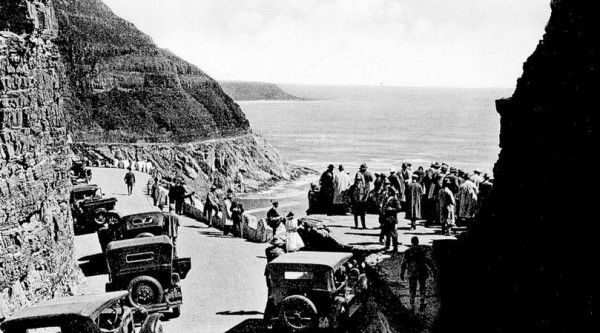 Public opening of the scenic Chapman's Peak drive, 6 May 1922