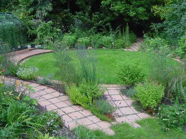 woodland garden by miles garden design
