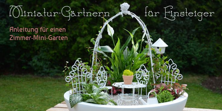 166 best images about miniatur garten on pinterest gardens greenhouses and fairy houses. Black Bedroom Furniture Sets. Home Design Ideas