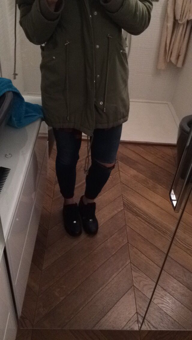 Max&co. Parka Jacket Blue benetton jeans Black nike airmax ltr 90 (also on my board MyShoes)