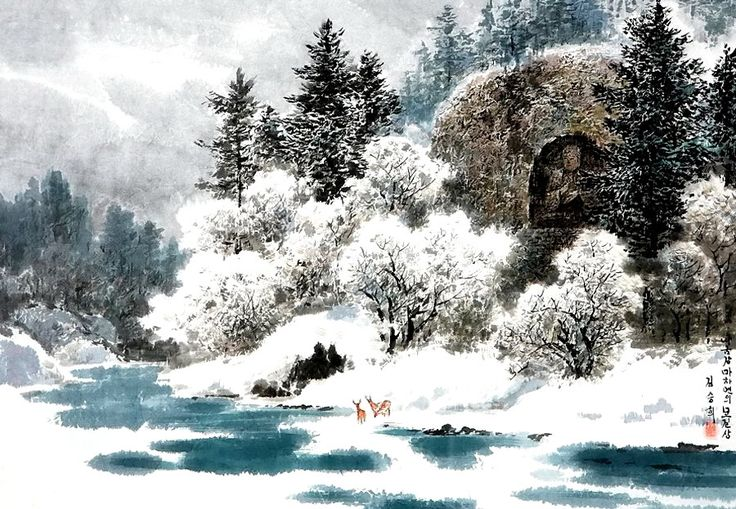 Снежная страна чудес - Корея