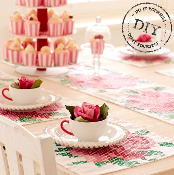 Urban Crafter Tea Party Table Setting DIY Kit