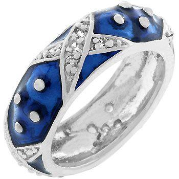 Boogie Down Navy Enamel Ring (size: 10)  http://atomicfleamarket.com/boogie-down-navy-enamel-ring-size-p-10914.html