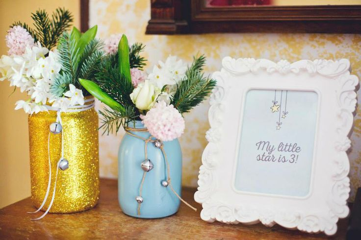 Little star.Hand painted decor