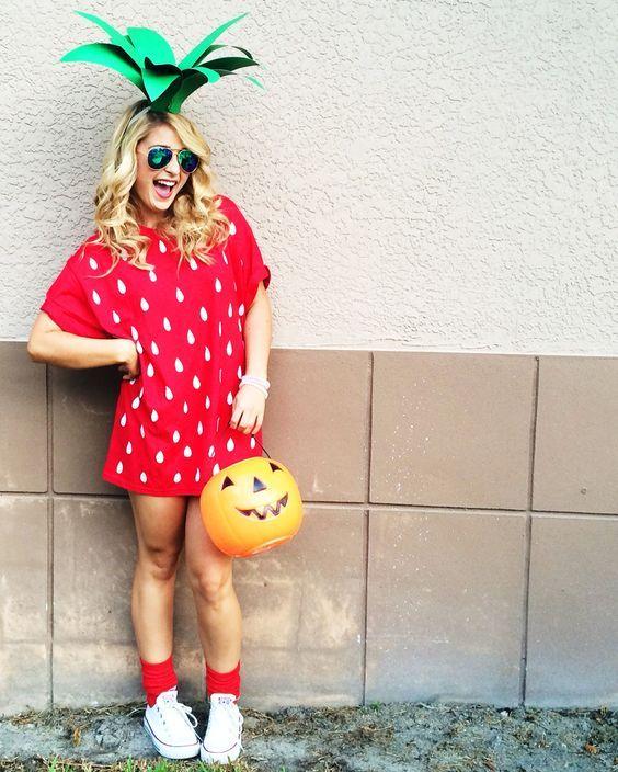 Inspiration & Accessoires um dein Erdbeere Kostüm selber machen zu können