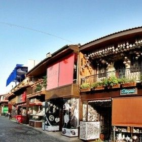 Side, Antalya. Centre
