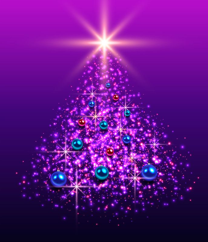 Purple And White Christmas Tree: 429 Best Purple For Christmas Images On Pinterest