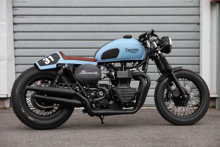 Triumph Bonneville T100 Raspo Custom Garage (3)