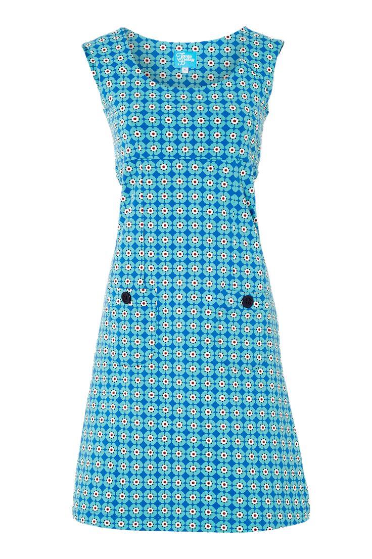Tante Betsy Dress sakura Blue