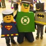 LEGO Minifigure Superhero Halloween Costumes LEGO Minifig Superhero Haloween Costumes – Inhabitots Green Halloween Costume Contest