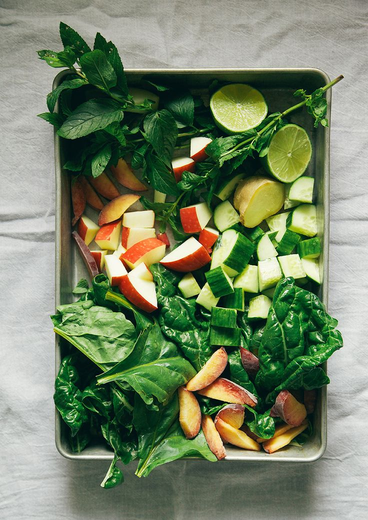 From My new favorite food site...The First Mess » Summer Green Smoothee
