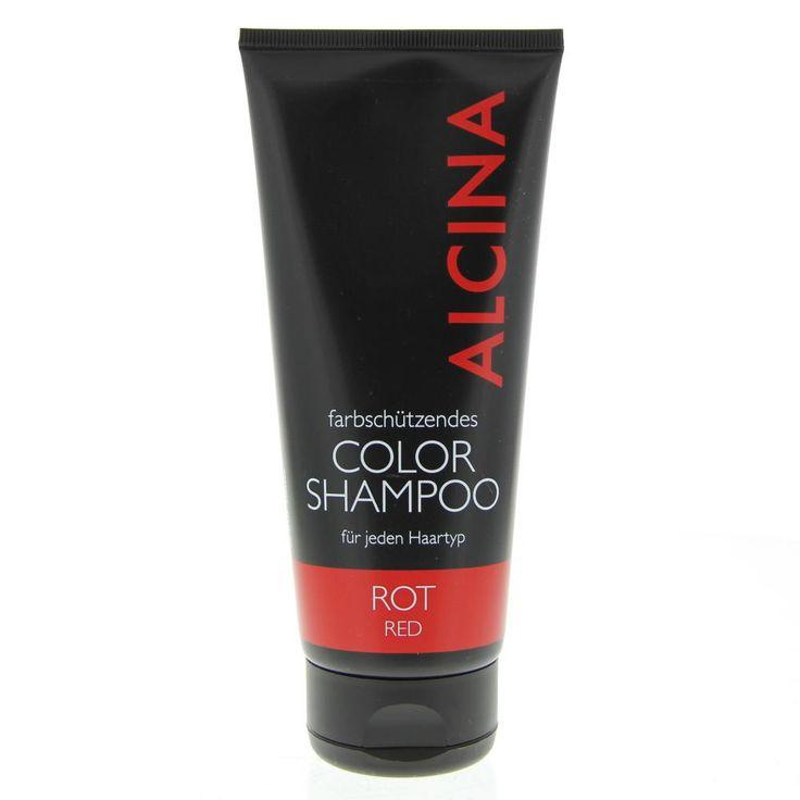 Alcina Color Farbschützende Color Shampoo Rot 200ml  Description: Alcina Farbschützende Color Shampoo Rot. Deze mild reinigende color-shampoo beschermt je haarkleur tegen oplichten door de zon bij elke wasbeurt. Gebruik: Laten schuimen op de hoofdhuid 5-10 min laten inwerken grondig uitspoelen.  Price: 14.20  Meer informatie