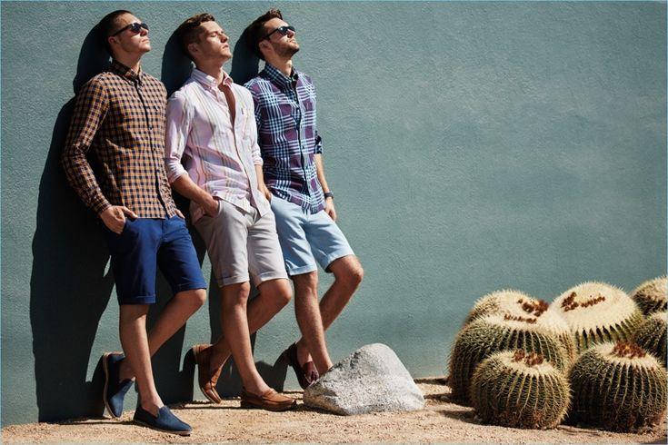 Maverick, Jace Moody, and Ben Hartig star in Ben Sherman's spring-summer 2017 campaign.