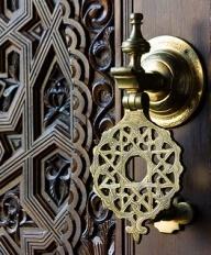 moroccan vintage door