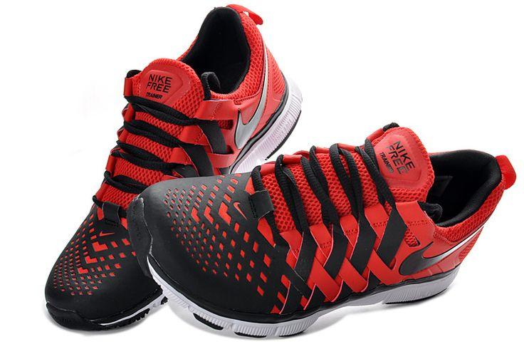 Nike Free Trainer 5.0 V4 Mens Pimento Black White £54.99 | Stuff to Buy |  Pinterest | Nike free trainer, Nike free and Cheap shoes