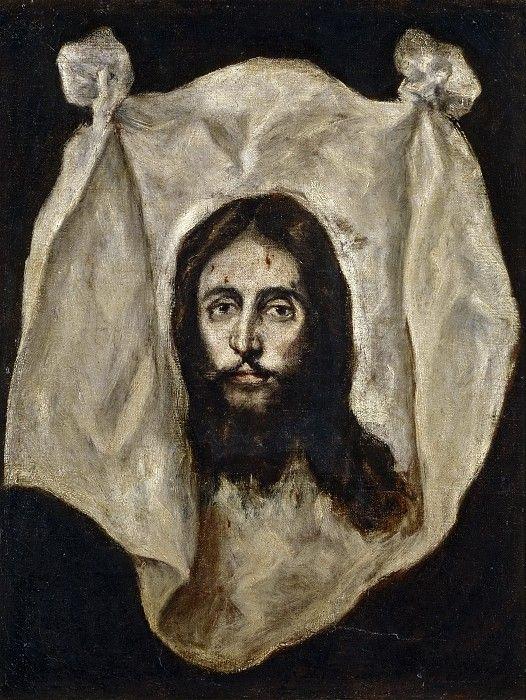 Эль Греко (и мастерская) -- Спас Нерукотворный. часть 5 Музей Прадо