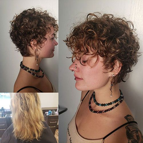 Natural Short Curly Hair Curly Hair Styles Short Curly Haircuts Short Curly Hair