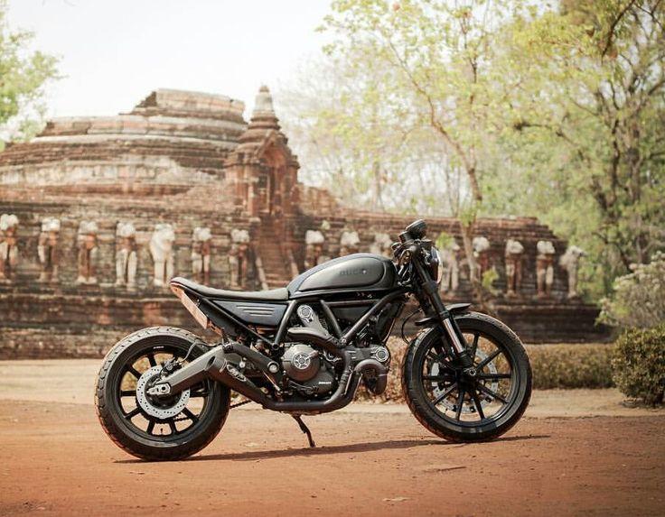 Cafe Racer Motorradhandschuhe