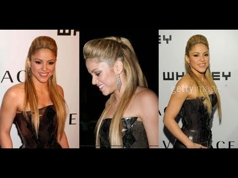 Media coleta con tupe de Shakira-Pedido Chelsy - YouTube